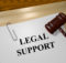Legal Support concept